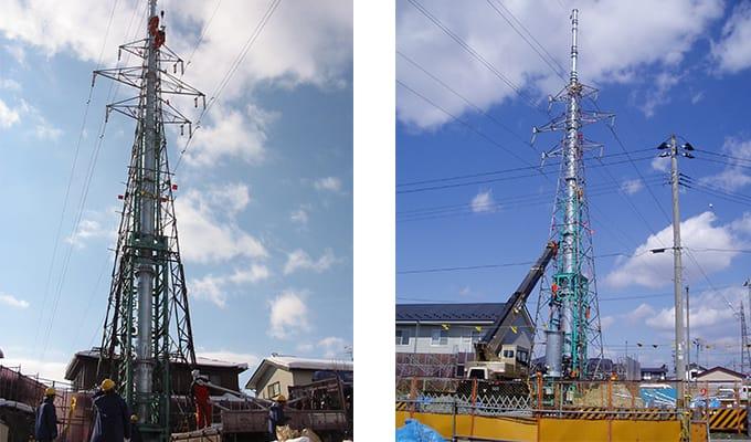 送電線工事用機機械工具|株式会社ETSホールディングス