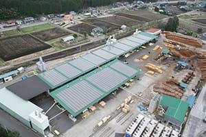 製材所屋根上太陽光設置工事|株式会社ETSホールディングス