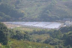 中芳養調整池太陽光発電施設設置工事|株式会社ETSホールディングス