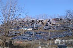 埼玉県皆野太陽光発電所新築工事|株式会社ETSホールディングス
