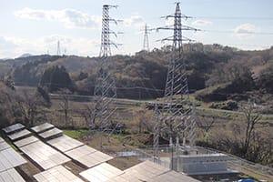 宮城県北部太陽光発電所新築工事|株式会社ETSホールディングス