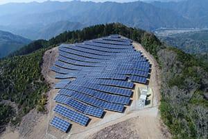 和歌山県日高川太陽光発電所工事|株式会社ETSホールディングス
